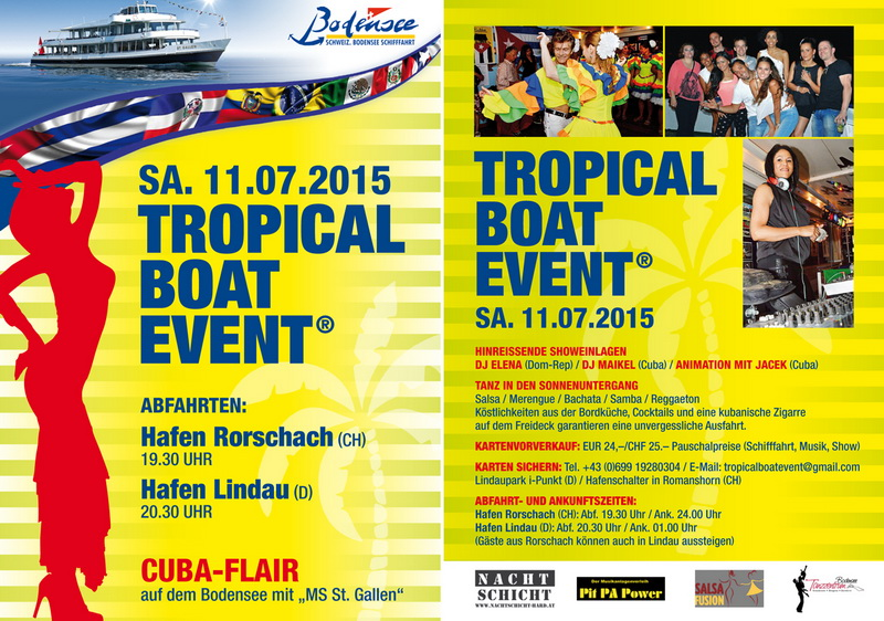 Tropical Boat Event Bodensee Flyer